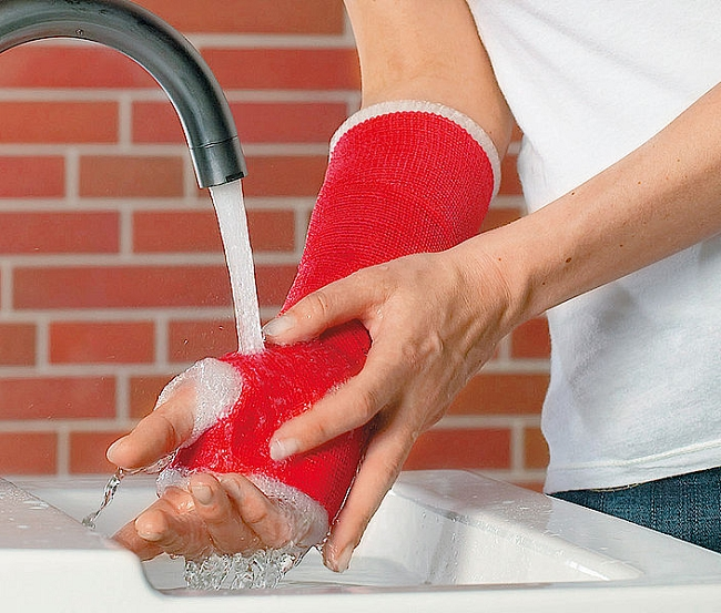Waterproof Cast Short Arm Cast Padding Kit Delta Dry