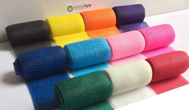 Cast Color Choices : Inch orthotape fiberglass casting tape roll