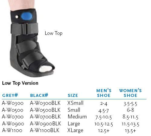 cam walking boot instructions