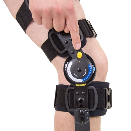 Innovator Dlx Plus Post Op Knee Brace Ossur