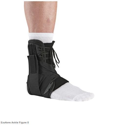 ossur form fit walker instructions