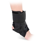 Advanced Ortho Canvas Lace-Up Ankle Brace Support
