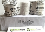 OrthoTape Plaster Bandages 3 Inch X 5 Yrds (12 ROLLS)