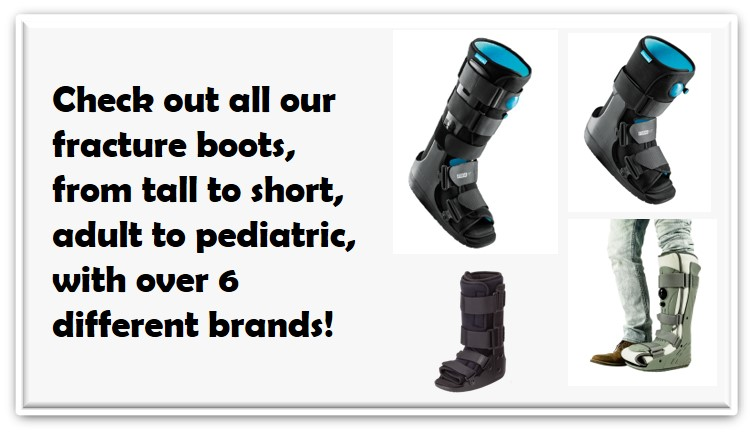 orthotape cam walker medical boot link