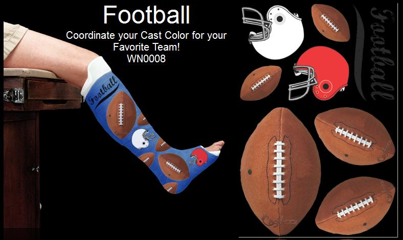 broken leg gift ideas football