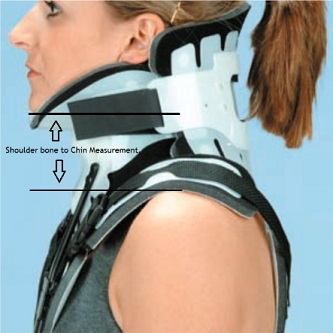 DeRoyal CTO Neck Extension- measure