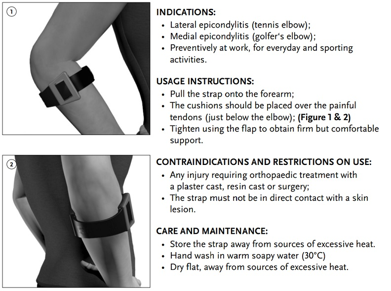 Formfit Tennis elbow instructions-2