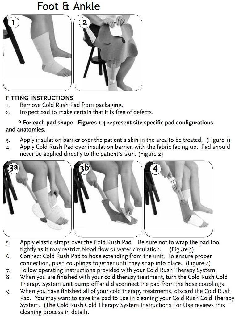 foot ankle instructions