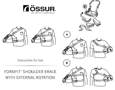 Shoulder Brace External Rotation instructions