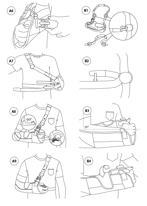 Shoulder Brace Sling Instructions