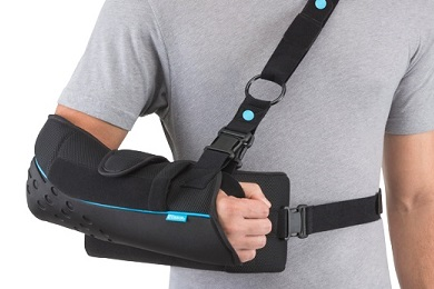 shoulder immobilizer support brace