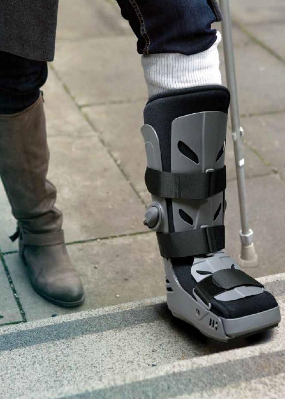sprint air cast ankle cam walker boot