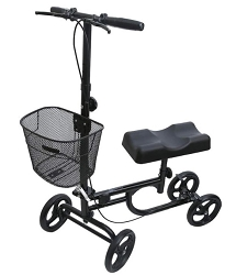 Economy Portable & Foldable Knee Walker | Knee Scooter - BodyMed