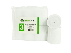 3 Inch Orthopedic Cast Padding (12 Rolls/bag)