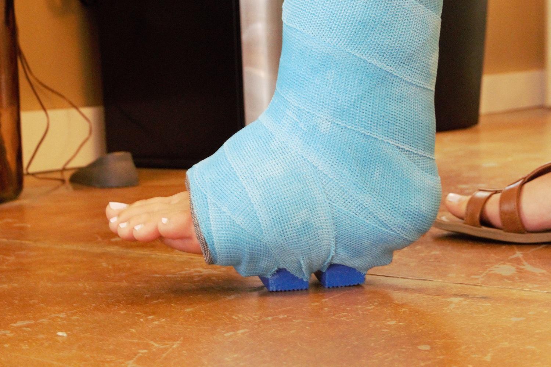Walking Cast Rubber Orthopedic Heel | Cushion Tread ...