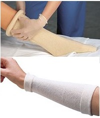 8 INCH Synthetic Medical Tubular Cast Stockinette - OrthoTape  (sold per foot)