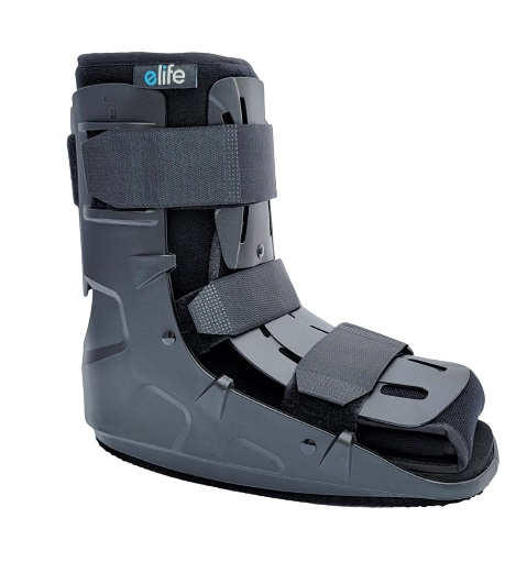 eLife Pro Shield Short Low Cam Walker Medical Fracture Boot - Broken Ankle or Foot
