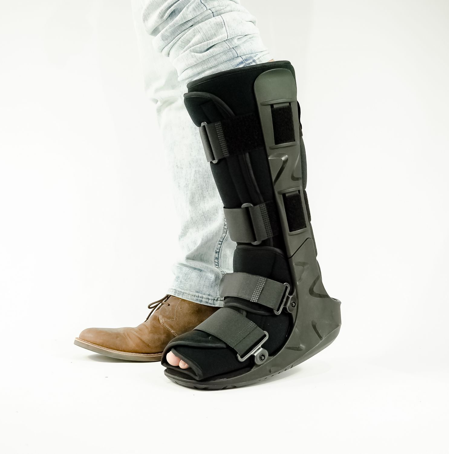 30b05c589f Foot Fracture Boot - High Top Fractured Ankle Boot - OrthoLife