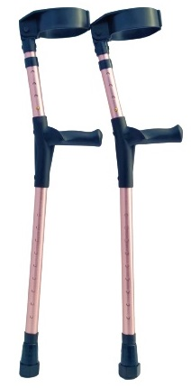 Youth | Kids Forearm Arm Crutches Adjustable 3 ¼ inch Full Cuff - OrthoStix