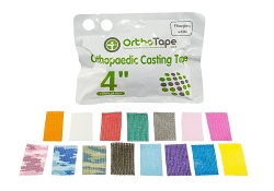 OrthoTape Fiberglass Cast Tape 4 INCH Box (1ROLL) (CLEARANCE)