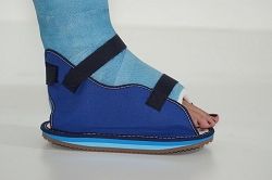 Blue Canvas Cast Shoe - OSSUR