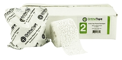 OrthoTape Plaster Bandages Gauze Wrap Cloth 2 Inch X 5 Yrds -12 ROLL