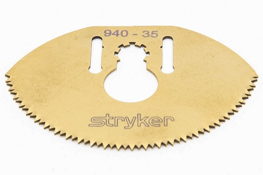 Stryker 940-35 Titanium Ion Cast Cutter Saw Blade