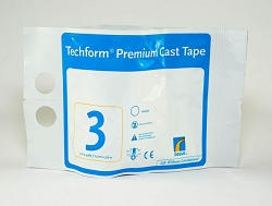 TECHFORM Fiberglass Casting Tape 3 INCH (1 ROLL)
