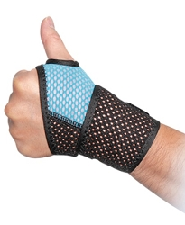 eLife Cool-Fit Adjustable Comfort Cool Breathable Wrist Support Brace | Wrap