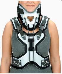 CTO Cervical Thoracic Orthosis Extension Neck Brace - DeRoyal