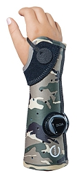 Exos Pediatric Short Arm Fracture Cast Brace with Open Thumb