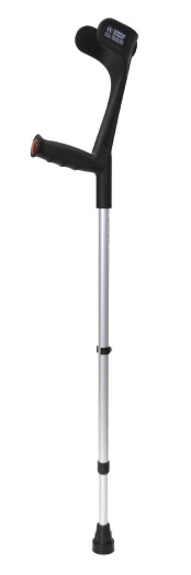 Walk Easy Adult Forearm Crutches Half Cuff Model 445 (pair)