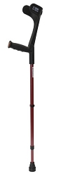 Walk Easy Adult Forearm Crutches Half Cuff Model 455 (pair)