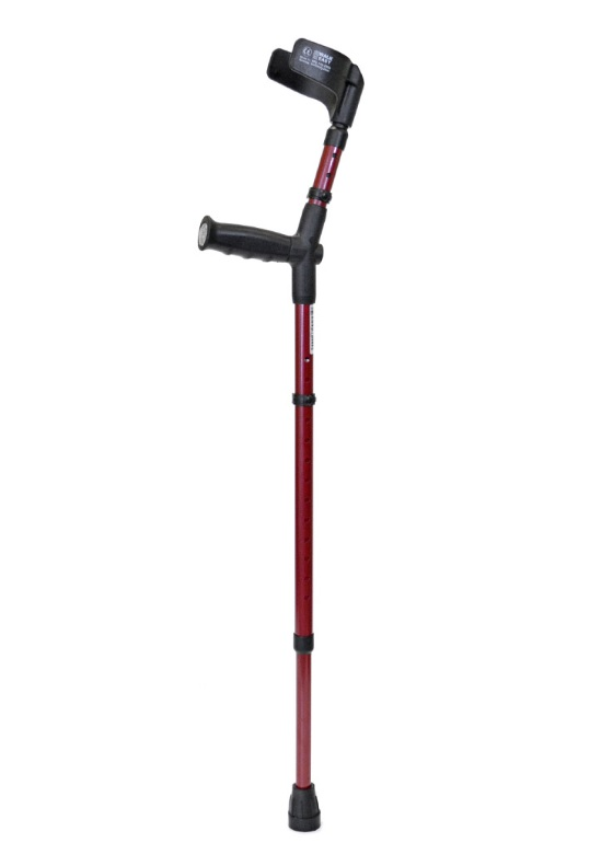 Walk Easy Adult Forearm Crutches Half Cuff Model 484 (pair)