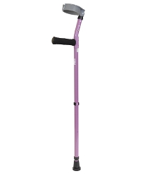 Walk Easy Adult Forearm Crutches Adjustable Full Cuff Model 492 (pair)