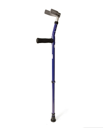Walk Easy Adult Forearm Crutches Adjustable Half Cuff Model 494 (pair)