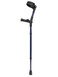 Walk Easy Adult forearm Crutches Anatomic Grip Full Cuff Model 495 (pair)