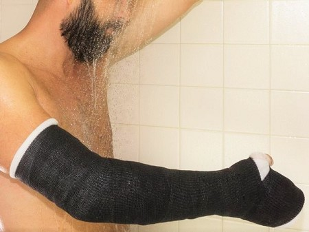 Waterproof Cast DELTA DRY Long Arm Padding Kit