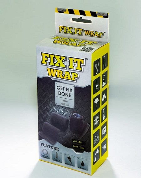 Fix It Wrap | Strong Repair Tape  (4 INCH X 50 in) (2-PACK)