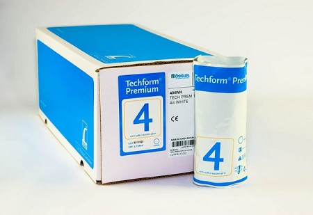 TECHFORM Fiberglass Casting Tape 4 INCH Box (10 ROLLS)