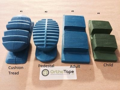 Walking Cast Rubber Orthopedic Heel