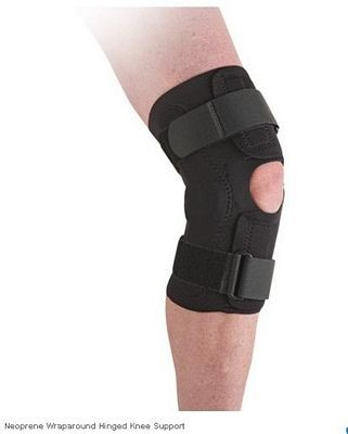 Neoprene Wraparound Hinged Knee Support - Ossur