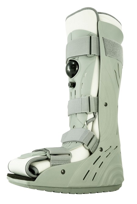 OrthoLife Tall High Rugged Closed Toe Walker Air Cast Cam Walker