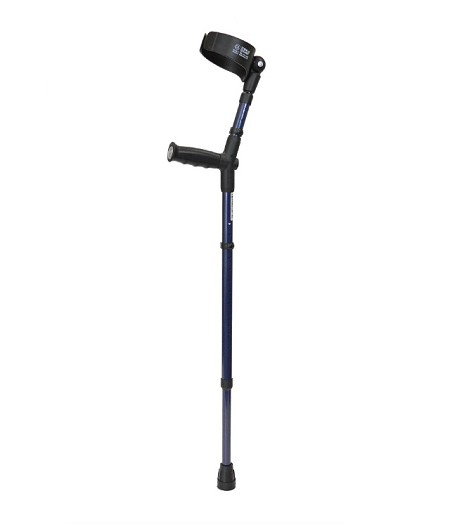 "Walk Easy Adult Forearm Crutches 4"" Cuff Model 480 (pair)"