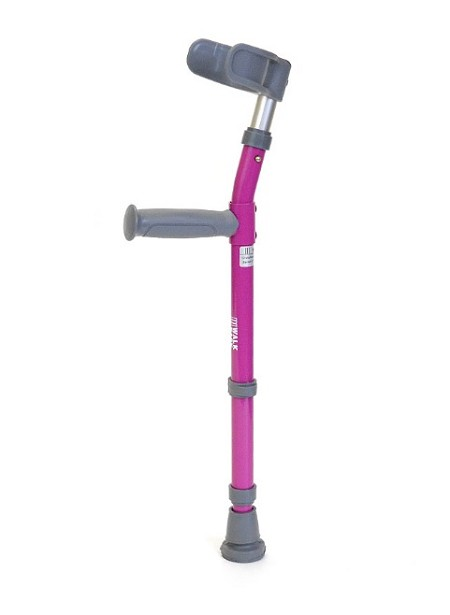 Walk Easy Toddler Forearm Crutches Model half cuff 564 (pair)