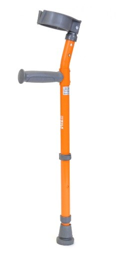 "Walk Easy Pediatric forearm crutches 3"" full cuff Model 572"