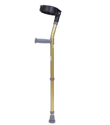 "Walk Easy Youth Forearm Crutches 4"" Full Cuff Model 586 (pair)"